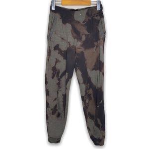 Champion Repurposed Bleach Tie Dye Sweatpants